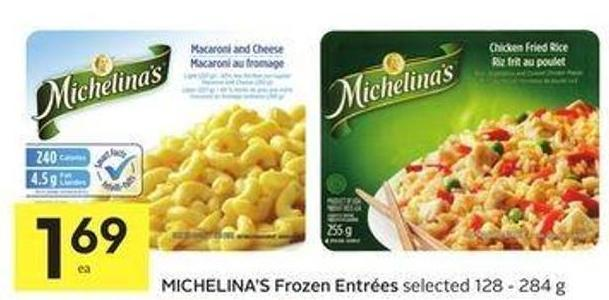 Michelina's Frozen Entrées Selected