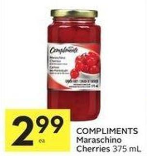 Compliments Maraschino Cherries