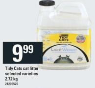 Purina Tidy Cats Cat Litter - 2.72 Kg