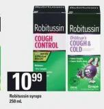 Robitussin Syrups 250 Ml