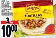 Old El Paso Soft Tortillas