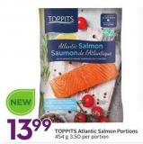 Toppits Atlantic Salmon Portions
