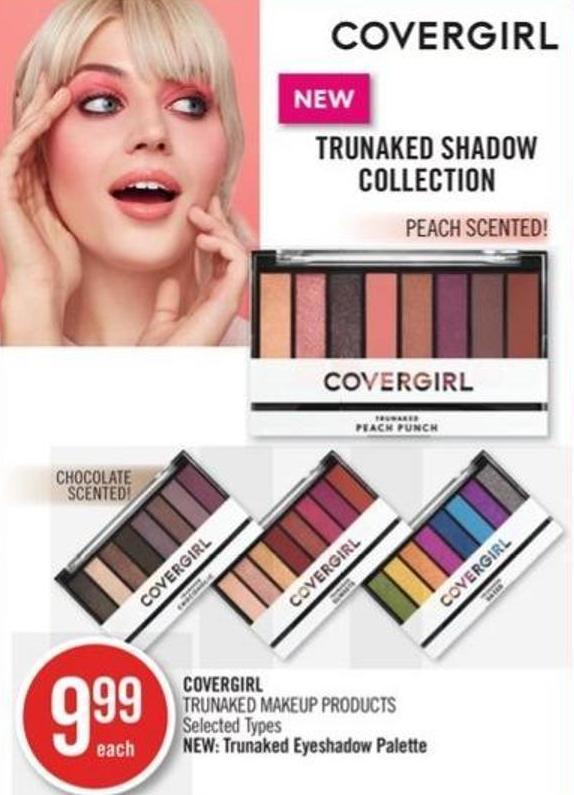 Covergirl Trunaked Makeup Products