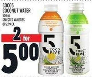 Coco5 Coconut Water