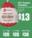 PC Frozen Turkeys 7 - 9 Kg
