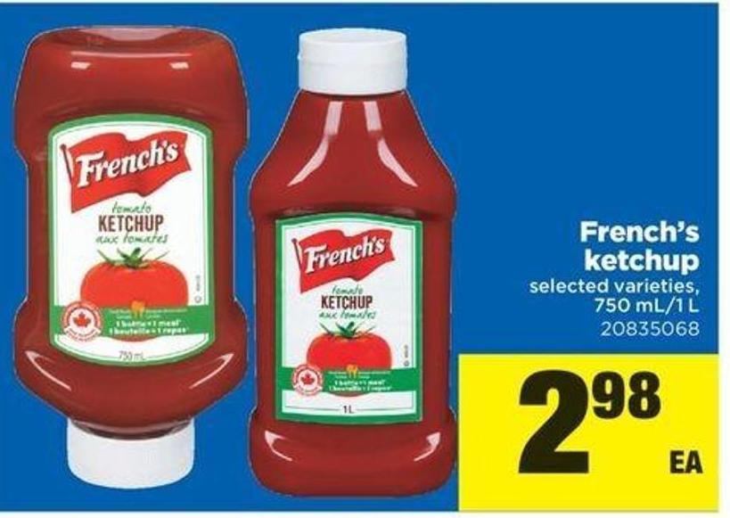 French's Ketchup - 750 Ml-1 L