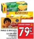 Parle G Biscuits Or Lu Or Ebm Cookies