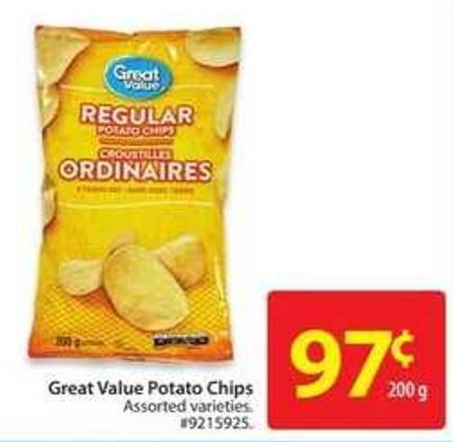 Great Value Potato Chips