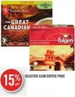 Selected Club Coffee PODS