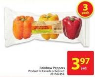 Rainbow Peppers