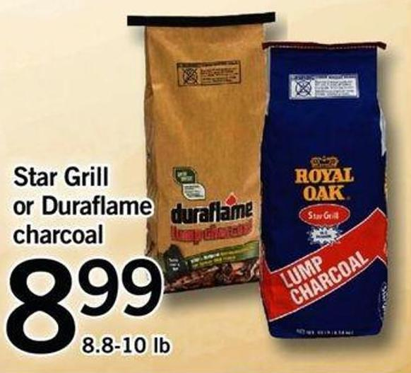 Star Grill Or Duraflame Charcoal