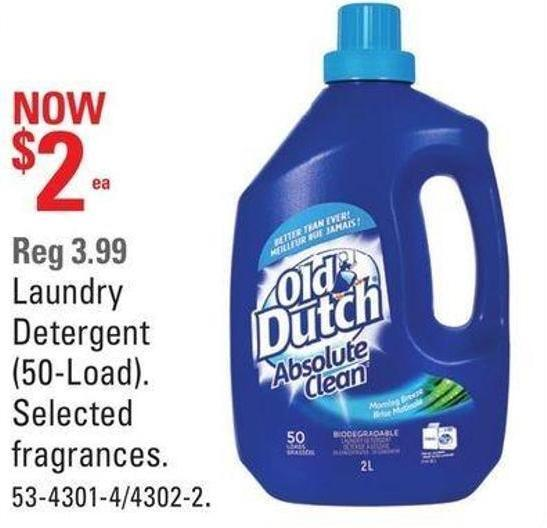 Laundry Detergent (50-load)
