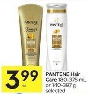 Pantene Hair Care 180-375 mL or 140-397 g Selected