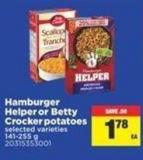 Hamburger Helper Or Betty Crocker Potatoes - 141-255 g