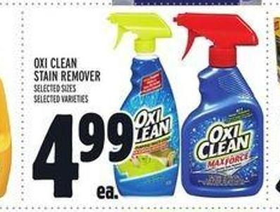 Oxi Clean Stain Remover