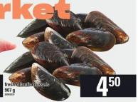 Fresh Atlantic Mussels - 907 g