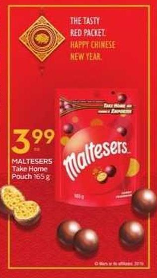Maltesers Take Home Pouch
