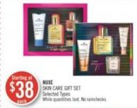 Nuxe Skin Care Gift Set
