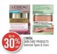L'or'al Skin Care Products