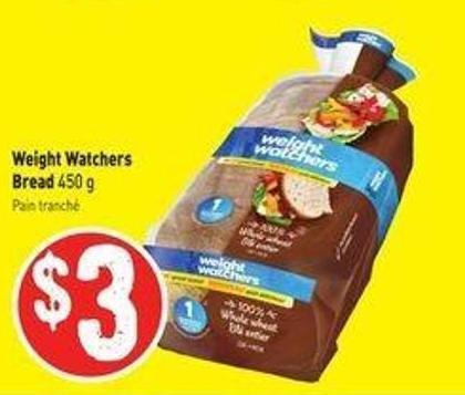 Weight Watchers Bread 450 g