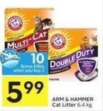 Arm & Hammer Cat Litter 6.4 Kg - 10 Air Miles Bonus Miles