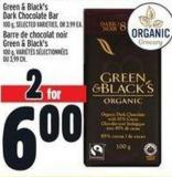 Green & Black's Dark Chocolate Bar