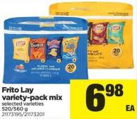 Frito Lay Variety Pack Mix - 520/560 g