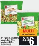 PC Garden Salad 340 G Or Coleslaw - 397 g