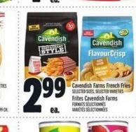 Cavendish Farms French Fries | Frites Cavendish Farms