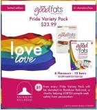 Love Good Fats Pride Variety Pack - 12 Bars