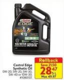 Castrol Edge Synthetic Oil 5 L