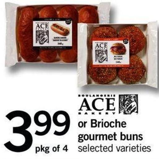 Ace Bakery Or Brioche Gourmet Buns