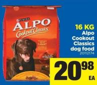 Alpo Cookout Classics Dog Food - 16 Kg