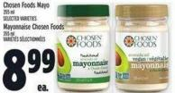 Chosen Foods Mayo 355 ml