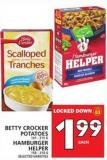 Betty Crocker Potatoes Hamburger Helper