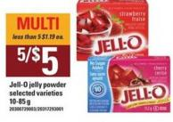 Jell-o Jelly Powder - 10-85 g