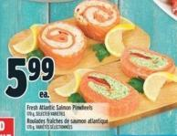 Fresh Atlantic Salmon Pinwheels