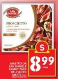 Mastro Or San Daniele Family Pack Deli Sliced Meats