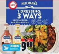 Hellmann's Dressing 475 ml