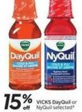 Vicks Dayquil or Nyquil