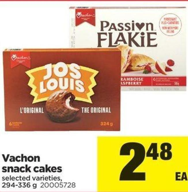 Vachon Snack Cakes - 294-336 G