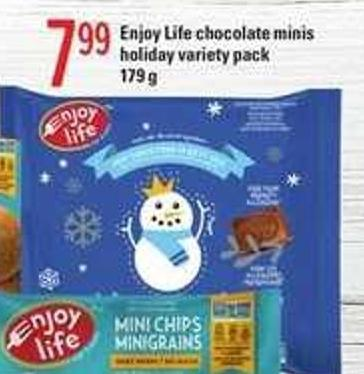 Enjoy Life Chocolate Minis Holiday Variety Pack