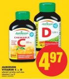 Jamieson Vitamin C or D