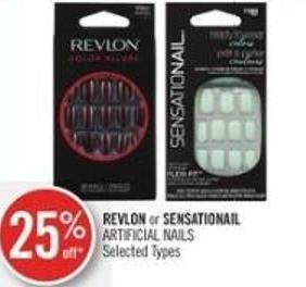 Revlon or Sensationail Artificial Nails