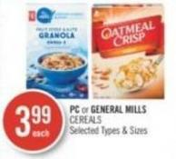 PC or General Mills Cereals