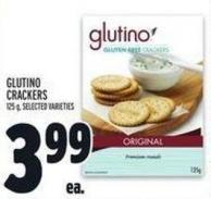Glutino Crackers 125 g
