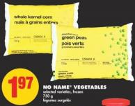 No Name Vegetables - 750 g