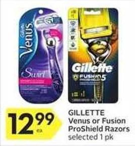 Gillette Venus or Fusion Proshield Razors