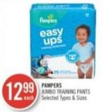 Pampers Jumbo Training Pants