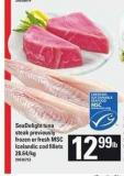 Seadelight Tuna Steak Previously Frozen Or Fresh Msc Icelandic Cod Fillets